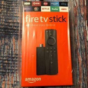 Amazon Fire TV Stick w/ Alexa Voice Remote NIB